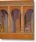 Alone Or With God Metal Print