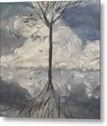 Alone Tree Metal Print