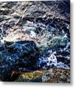 Alone With Sea Metal Print