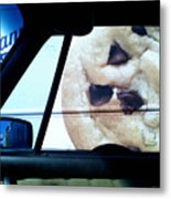 Along Side The Cookie Truck Metal Print