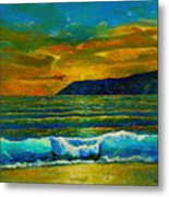 Along The African Coast Metal Print