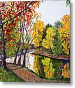 Along The Blanchard Metal Print