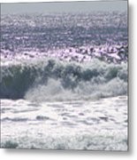 Along The Costal Highway Metal Print