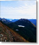 Along The Mt Defiance Trail Metal Print
