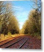 Along The Old Railroad  Metal Print