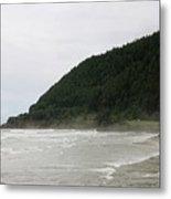 Along The Oregon Coast - 4 Metal Print