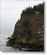 Along The Oregon Coast - 6 Metal Print