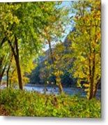 Along The Shenandoah River Metal Print