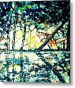 Along The Tittabawassee River Metal Print