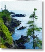 Along The West Coast 1 Metal Print