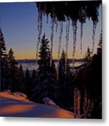 Alpenglow Claws Metal Print