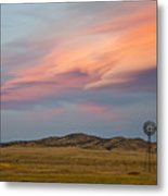 Alpenglow Over South Park, Colorado Metal Print