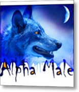 Alpha Male Metal Print