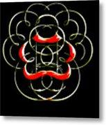 Alphabet Art4 Metal Print