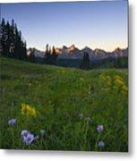 Alpine Dawn Metal Print