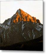 Alpine Glow Metal Print