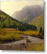 Alpine Loop Fall Metal Print