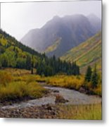Alpine Loop Road Metal Print