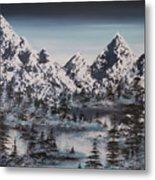 Alpine Peaks Metal Print