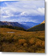 Alpine Pond Metal Print