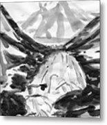 Alpine River Metal Print