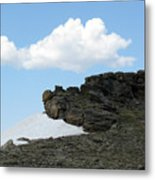 Alpine Tundra - Up In The Clouds Metal Print