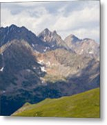 Alpine Tundra And The Colorado Continental Divide Metal Print