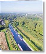 Alrewas Canal Metal Print