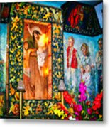 Altar Painted By Famous John Walach Metal Print