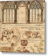 Altar Screen Beverly Minster East Riding Yorkshire England 1883 Metal Print