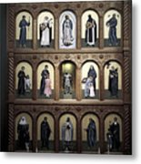 Altar Screen Cathedral Basilica Of St Francis Of Assisi Santa Fe Nm Metal Print