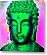 Altered Buddha Metal Print