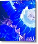 Alternate Reality Sunflower Metal Print