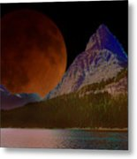 Alternate Universe Glacier Park Metal Print