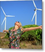 Alternative Energy Concept Metal Print