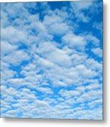 Alto-cumulus Metal Print