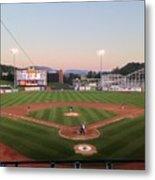 Altoona Curve Baseball Sunset Metal Print