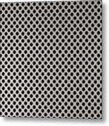 Aluminum Hole Texture Silver Metal Circle Steel Metal Print