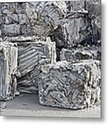 Aluminum Recycling Metal Print