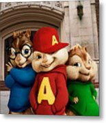 Alvin And The Chipmunks Metal Print
