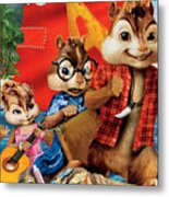 Alvin And The Chipmunks Chipwrecked Metal Print