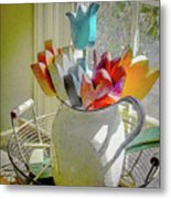 Always In Bloom Metal Print