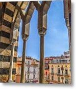 Amalfi Arches Metal Print