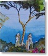 Amalfi Italy Color Metal Print