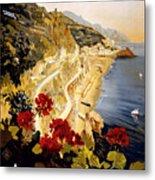 Amalfi Metal Print