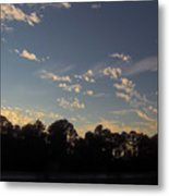 Amazing Clouds Before Sunset Metal Print