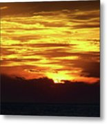 Amazing Fire In The Sky Metal Print