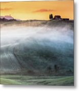 Amazing Landscape Of Tuscany Metal Print