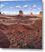 Amazing Monument Valley Metal Print