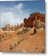 Amazing Mountains In National Park  Metal Print